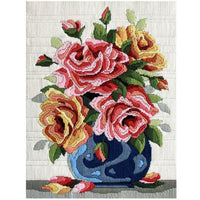 Roses - A Country Threads Longstitch kit
