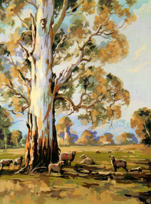 The Gum Tree - An Australian Themed Tapestry Canvas