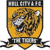 Hull City FC Cross Stitch Design - stitchaphoto