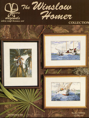 Winslow Homer - A Janet Powers cross stitch pattern book