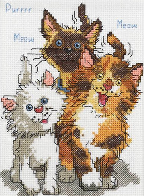 Cattails of Duckport - A Janlynn counted cross stitch kit