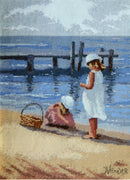By The Jetty - A Leutenegger cross stitch kit