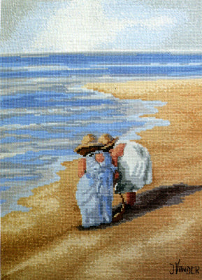 Sand Shadows - A Leutenegger cross stitch kit