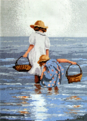 By the Seashore - A Leutenegger cross stitch kit