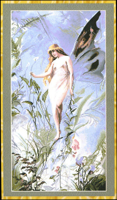 Lily Fairy - A Kustom Krafts cross stitch chart