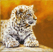 Leopard Cub - A Cross Stitch Chart from Kustom Kraft