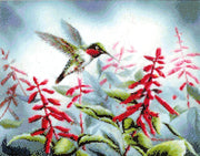 Hummingbird I - a Kustom Kraft cross stitch chart