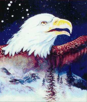 Aquila - A cross stitch chart from Kustom Krafts