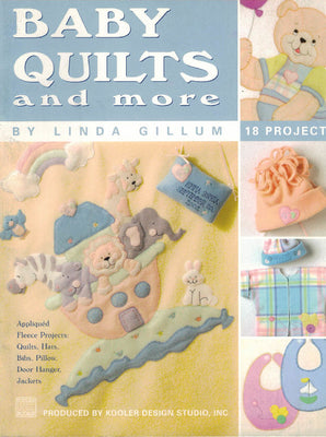 Baby Quilts and More - A Leisure Arts cross stitch booklet