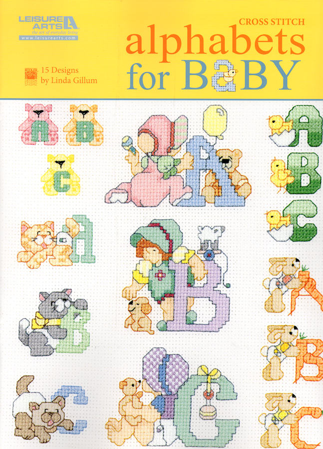 Alphabets for Baby - A Leisure Arts cross stitch booklet