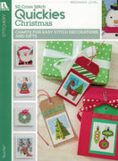 50 Cross Stitch Quickies - Christmas - A Leisure Arts cross stitch booklet