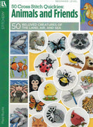 50 Cross Stitch Quickies - Animals and Friends - A Leisure Arts cross stitch booklet