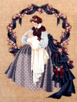 Sweet Dreams - a Lavender and Lace cross stitch pattern