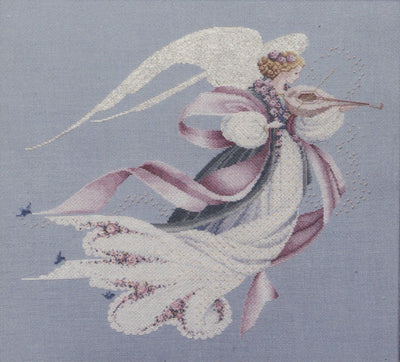 Angel of Spring - A Lavender and Lace cross stitch pattern