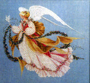 Angel of Summer - A Lavender and Lace cross stitch pattern