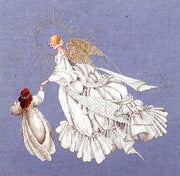 Angel of Mercy - a Lavender and Lace cross stitch pattern