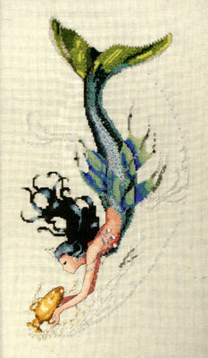 Mediterranean Mermaid - a Mirabilia cross stitch chart