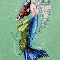 Siren and Shipwreck - a Mirabilia cross stitch chart