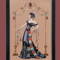 At the Met  - a Mirabilia cross stitch chart