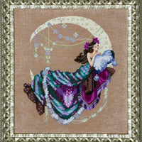 Moon Flowers - A Mirabilia cross stitch chart MD137
