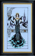 The Raven Queen  - a Mirabilia cross stitch chart