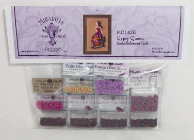 Gypsy Queen Embellishment Pack MD142E