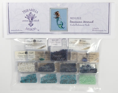 Renaissance Mermaid Embellishment Pack MD151E