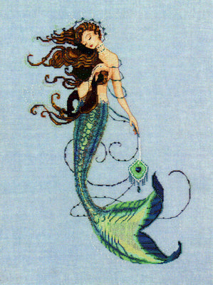 Renaissance Mermaid - a Mirabilia cross stitch chart MD151