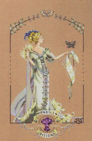 Lady Mirabilia - A Mirabilia cross stitch chart