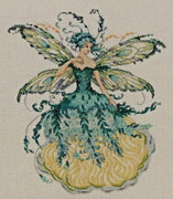 March Aquamarine Fairy - A Mirabilia cross stitch chart MD159
