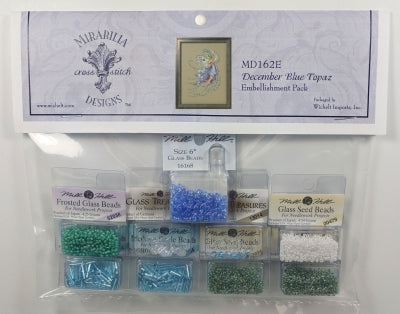 December Blue Topaz Embellishment Pack MD162E