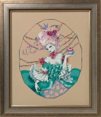 The Baker's Wife - A Mirabilia cross stitch chart MD166