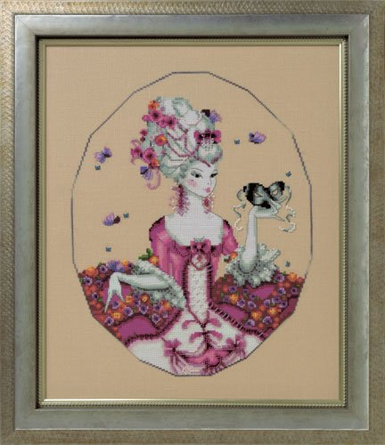 The Duchess of Rouen - A Mirabilia cross stitch chart MD168