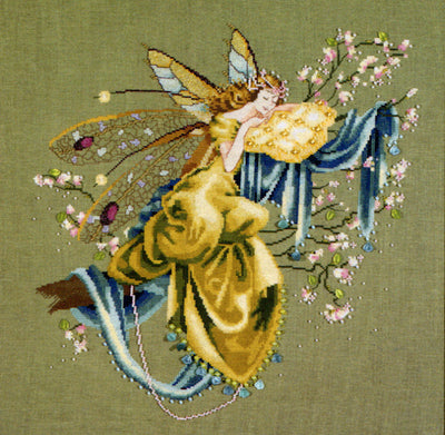 Lilly of the Woods - a Mirabilia cross stitch chart