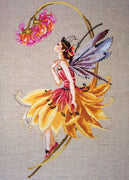 The Petal Fairy  - a Mirabilia cross stitch chart