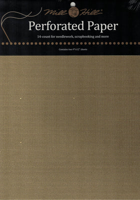 Mill Hill Perforated Paper - Gold