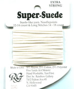 SS40 Rainbow Gallery Super Suede White