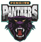 Penrith Panthers NRL Logo Cross Stitch Design - stitchaphoto