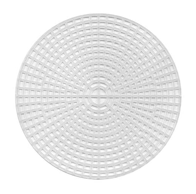 Plastic Canvas - 7 Count - 5.75&  Circle Shape - Pkt of 12