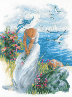 Angelique - A RIOLIS stranded cotton cross stitch Kit