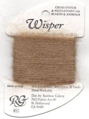 W90 Rainbow Gallery Wisper thread