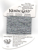 ND3 Rainbow Gallery Nordic Gold Silver Thread
