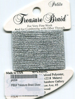 PB04 Rainbow Gallery Petite Treasure Braid