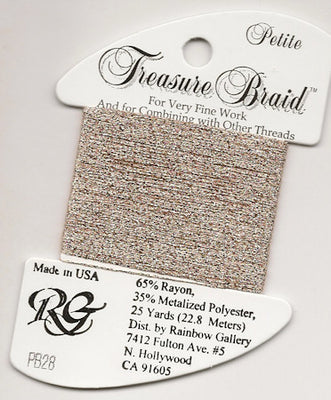 PB28 Rainbow Petite Treasure Braid