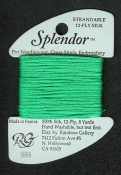 S989 Rainbow Gallery Splendor Silk Thread