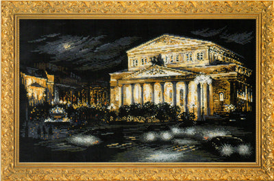 Bolshoi Theatre - A RIOLIS cross stitch Kit
