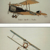 Aircraft - British Sopwith and German Albatross - A Ross Originals cross stitch chart