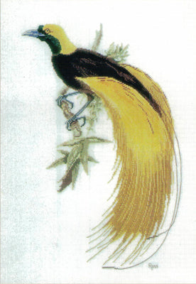 Greater Bird of Paradise - A Ross Originals cross stitch chart