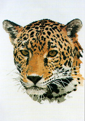 Jaguar - A Ross Originals cross stitch chart