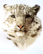 Snow Leopard - A Ross Originals cross stitch chart